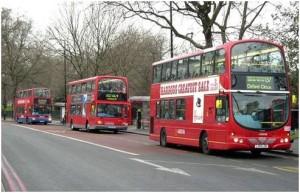 three-london-buses