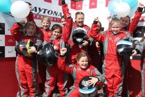 Dare to Be Different karters at Daytona Sandown