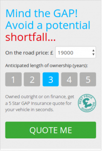 Get a gap insurance quote