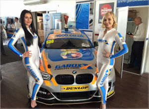 GardX promotional girls at Silverstone #CDX16