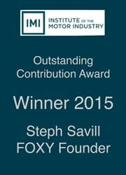IMI Outstanding Contribution Award Winner 2015