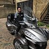 Sinead tests the Can-Am Spyder